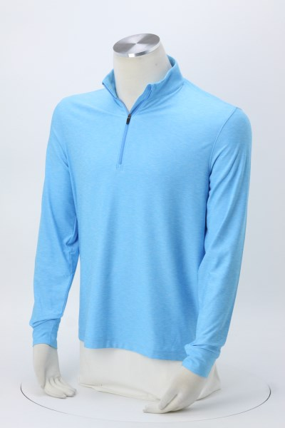 Greg Norman Play Dry Mock Neck 1/4-Zip Pullover - Men's - 24 hr 360 View