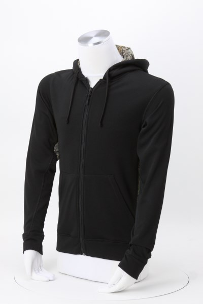 Decoy Camo Block Full-Zip Tech Sweatshirt 360 View