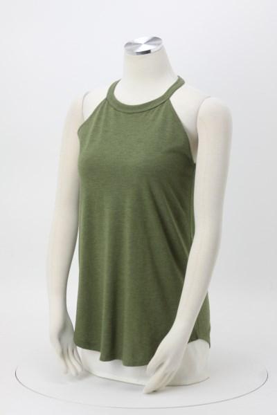 642e6dc835ad46 4imprint.com  Optimal Tri-Blend High Neck Tank Top - Ladies ...
