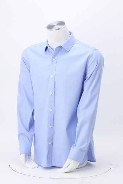 Nailhead Non-Iron Slim Fit Dress Shirt - Men's 360 View