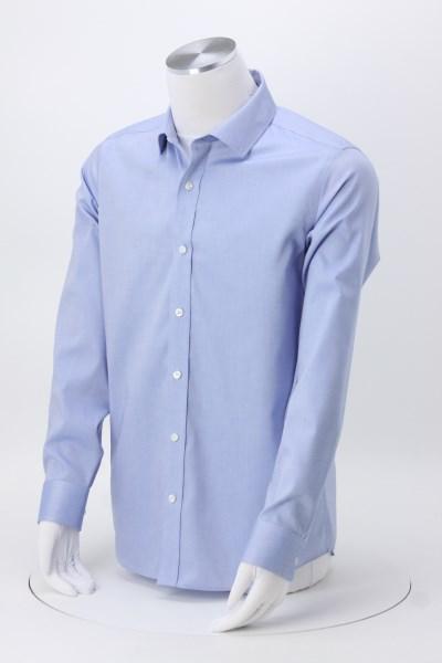 4imprint Com Pinpoint Oxford Non Iron Slim Fit Dress Shirt Men S