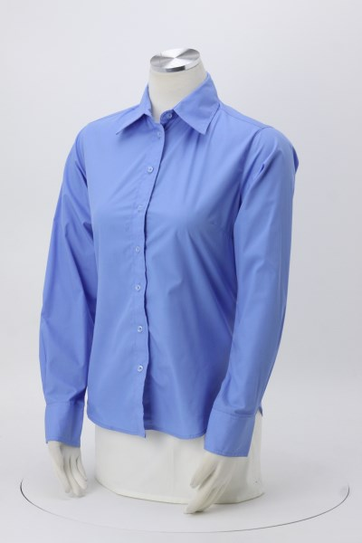 Essential Poplin Shirt - Ladies' 360 View