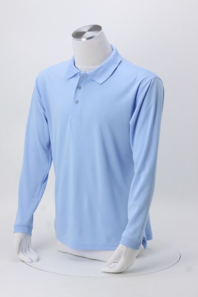 Cool & Dry Sport Long Sleeve Polo - Men's 360 View