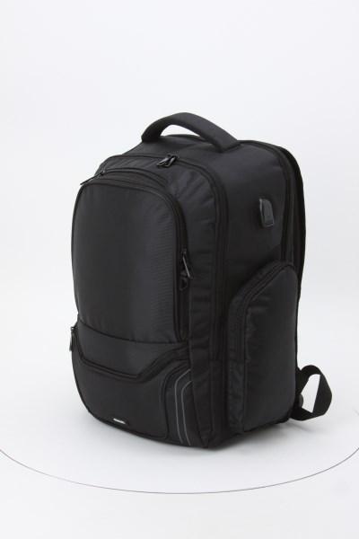 "elleven Arc 15"" Laptop Backpack 360 View"