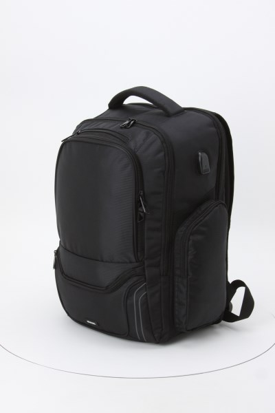 elleven Arc 15 inches Laptop Backpack - Embroidered 360 View