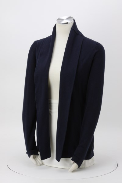 Weatherproof Vintage Cotton Cashmere Cardigan - Ladies' 360 View