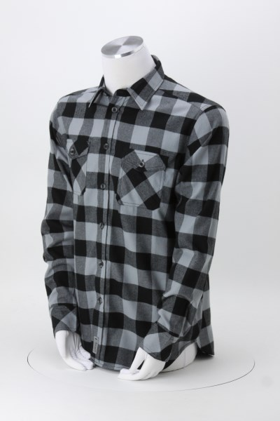 Roots73 Sprucelake Flannel Plaid Shirt - Men's 360 View
