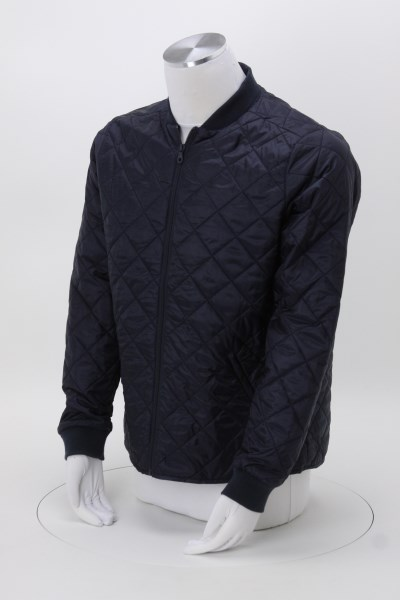 Diamond Quilted Jacket - Men's 360 View
