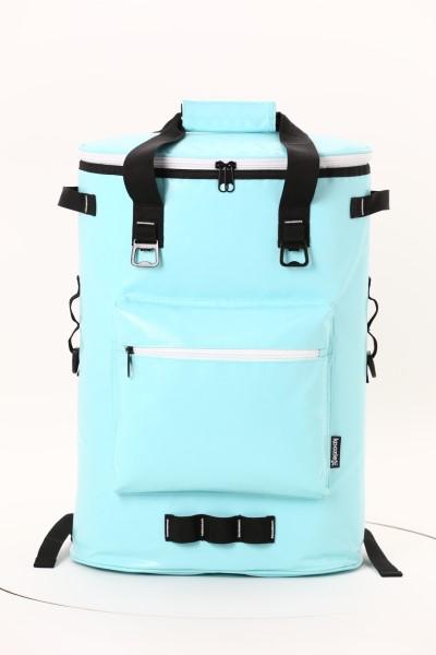Koozie® Olympus 36-Can Kooler Backpack 360 View