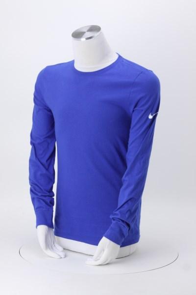 Nike Cotton LS T-Shirt - Men's - Screen 360 View