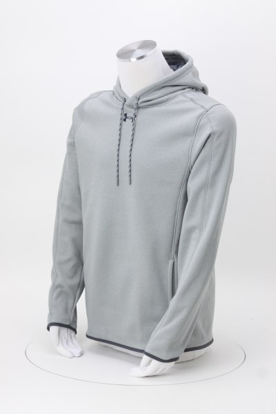 Under Armour Double Threat Hoodie - Men's - Embroidered 360 View