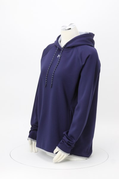 Under Armour Double Threat Hoodie - Ladies' - Embroidered 360 View