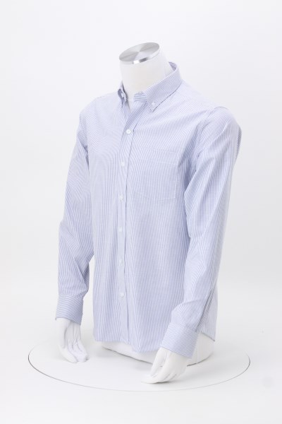 Cutter & Buck Epic Easy Care Stretch Oxford Stripe Shirt - Men's 360 View