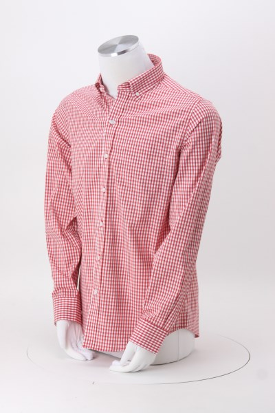 Cutter & Buck Epic Easy Care Stretch Gingham Shirt - Men's 360 View