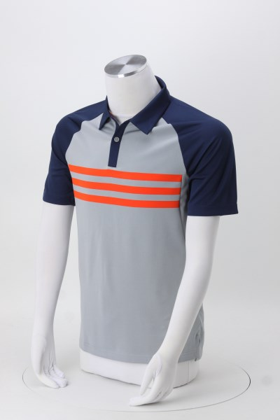adidas Climacool 3-Stripes Polo 360 View