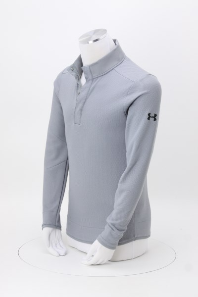 Under Armour Corporate Sweater Fleece Snap-Up - Embroidered 360 View