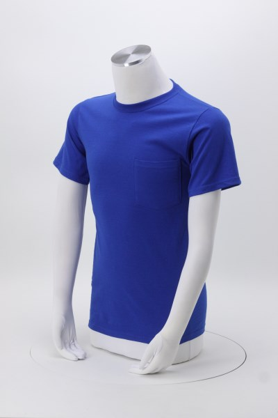 Fruit of the Loom HD Pocket T-Shirt - Men's - Colors 360 View