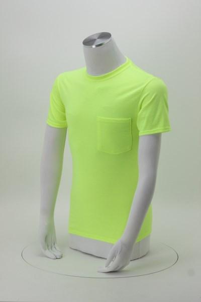 Jerzees Dri-Power 50/50 Pocket T-Shirt - Men's - Colors 360 View