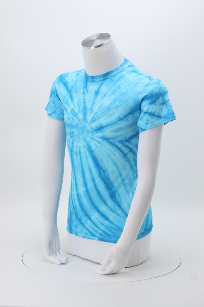 Tie-Dyed Cyclone T-Shirt 360 View