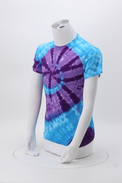 Tie-Dyed Typhoon T-Shirt 360 View