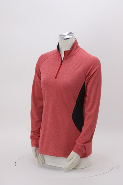 adidas UPF 1/4-Zip Pullover - Ladies' 360 View