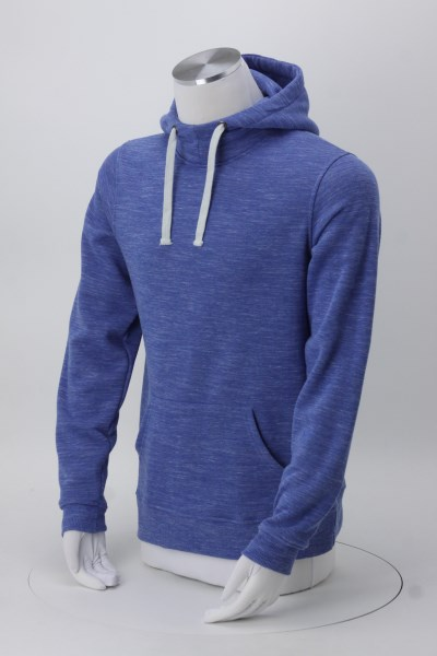 J. America Melange Hoodie - Men's - Embroidered 360 View