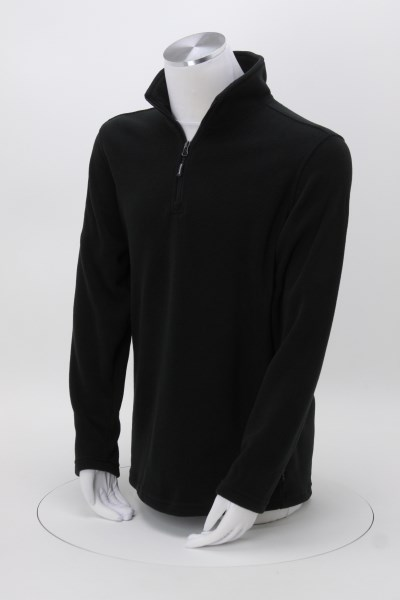 Midweight Microfleece 1/4-Zip Pullover - Men's 360 View