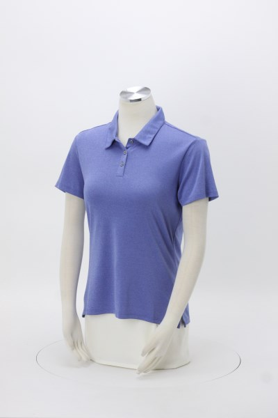 adidas Heather Polo - Ladies' 360 View