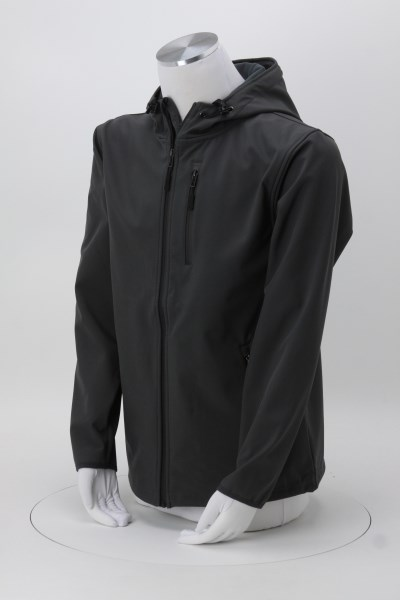 Independent Trading Co. Poly-Tech Soft Shell Jacket 360 View