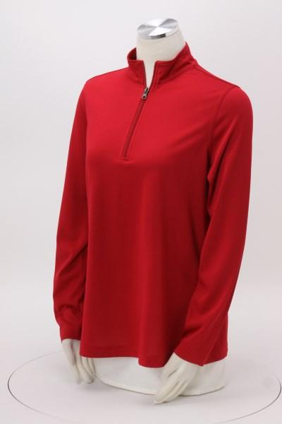 Harriton Advantage Snag Resistant 1/4-Zip Pullover - Ladies' 360 View