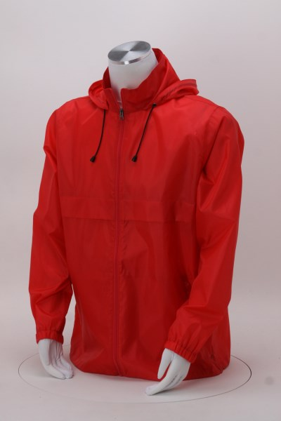Zone Lightweight Hooded Jacket - Screen 360 View