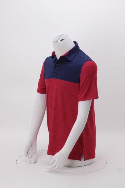 4c11a75f 4imprint.com: IZOD Colorblocked Space-Dyed Polo 150801