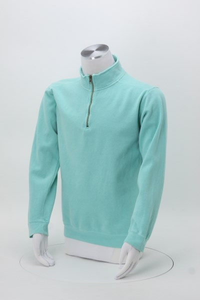 Comfort Colors Garment-Dyed 1/4-Zip Pullover - Men's 360 View