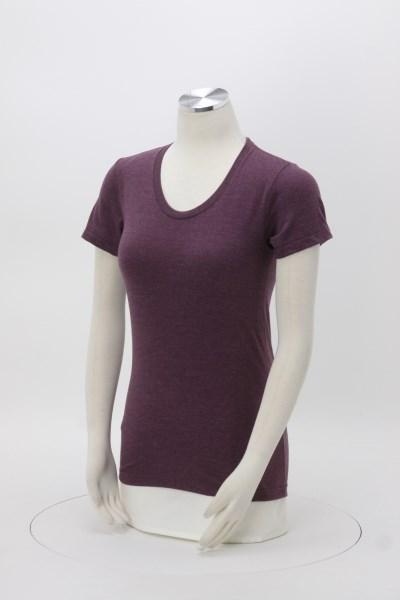 American Apparel Blend T-Shirt - Ladies' - Colors - Screen 360 View