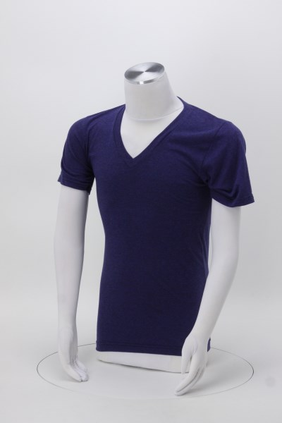 American Apparel Tri-Blend V-Neck T-Shirt - Men's 360 View