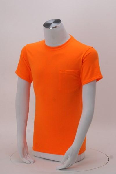 Hanes Workwear Pocket T-Shirt 360 View