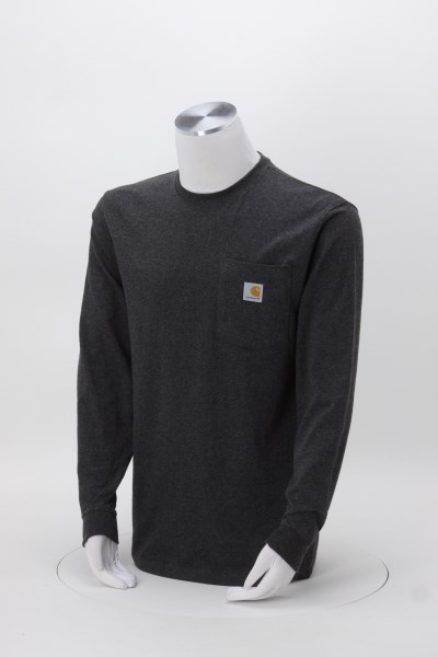 Carhartt Workwear Long Sleeve Pocket T-Shirt 360 View