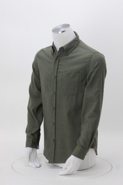 Weatherproof Vintage Brushed Flannel Shirt - Men's 360 View