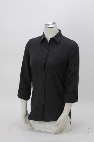 Weatherproof Vintage Brushed Flannel Shirt - Ladies' 360 View