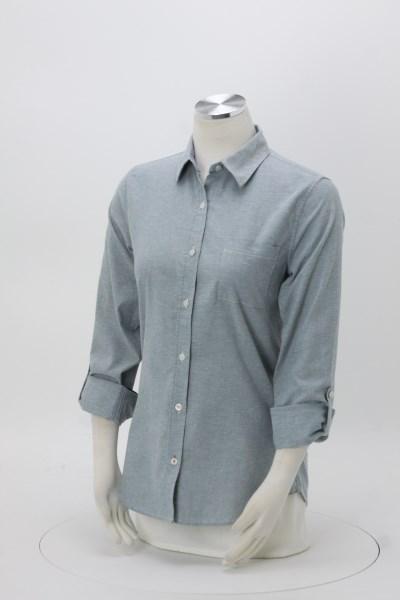 Weatherproof Vintage Stretch Brushed Oxford Shirt - Ladies' 360 View