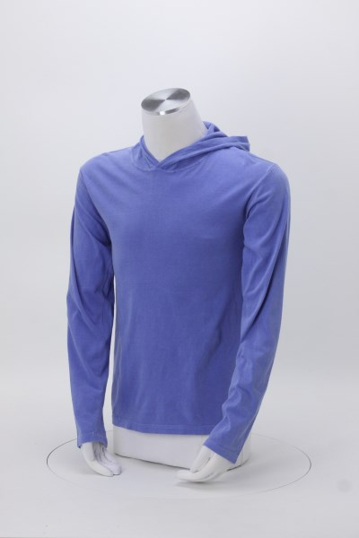 Comfort Colors Garment-Dyed Hooded T-Shirt - Screen 360 View