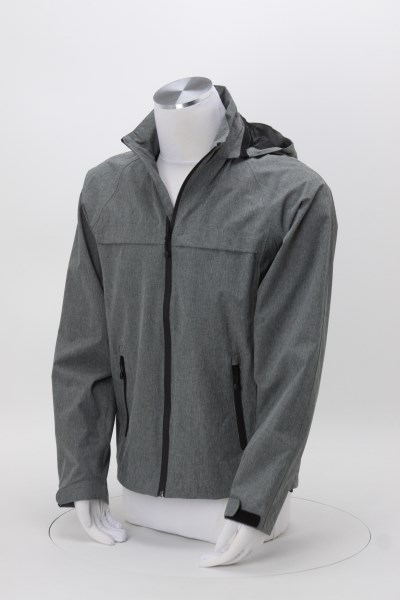 Traverse Waterproof Jacket - Men's - Heathered 360 View