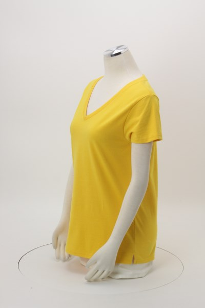 District Recycled V-Neck T-Shirt - Ladies' 360 View