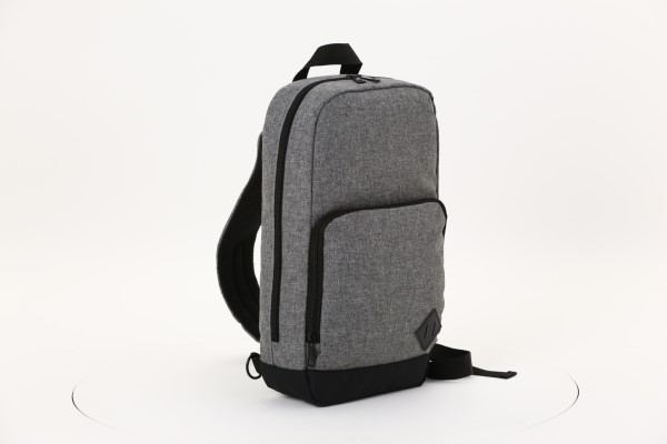 Graphite Deluxe RPET Sling Bag 360 View