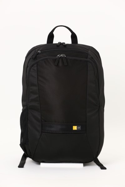 """Case Logic Key 15"""" Laptop Backpack - Embroidered 360 View"""