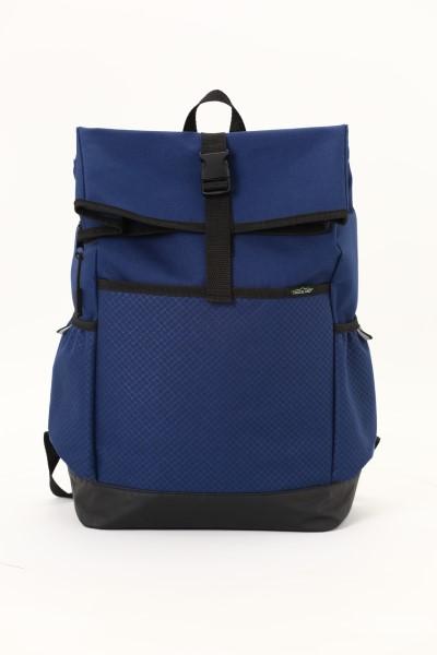 "Crossland Journey 15"" Laptop Backpack 360 View"