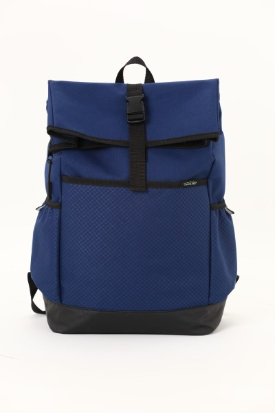 """Crossland Journey 15"""" Laptop Backpack - Embroidered 360 View"""