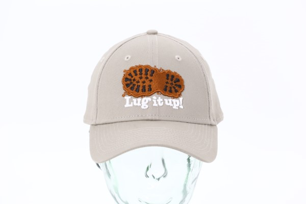 New Era Structured Cotton Cap - 3D Puff Embroidery 360 View