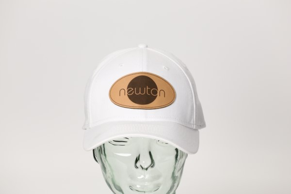 New Era Structured Stretch Fit Cap - Laser Engraved Patch 360 View