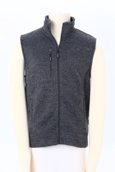 Sweater Knit Fleece Vest - Men's 360 View